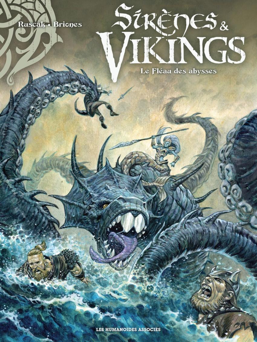 Couverture de Sirènes & Vikings -1- Le Fléau des abysses