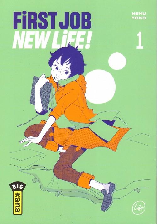 Couverture de First Job New Life ! -1Extrait- Tome 1
