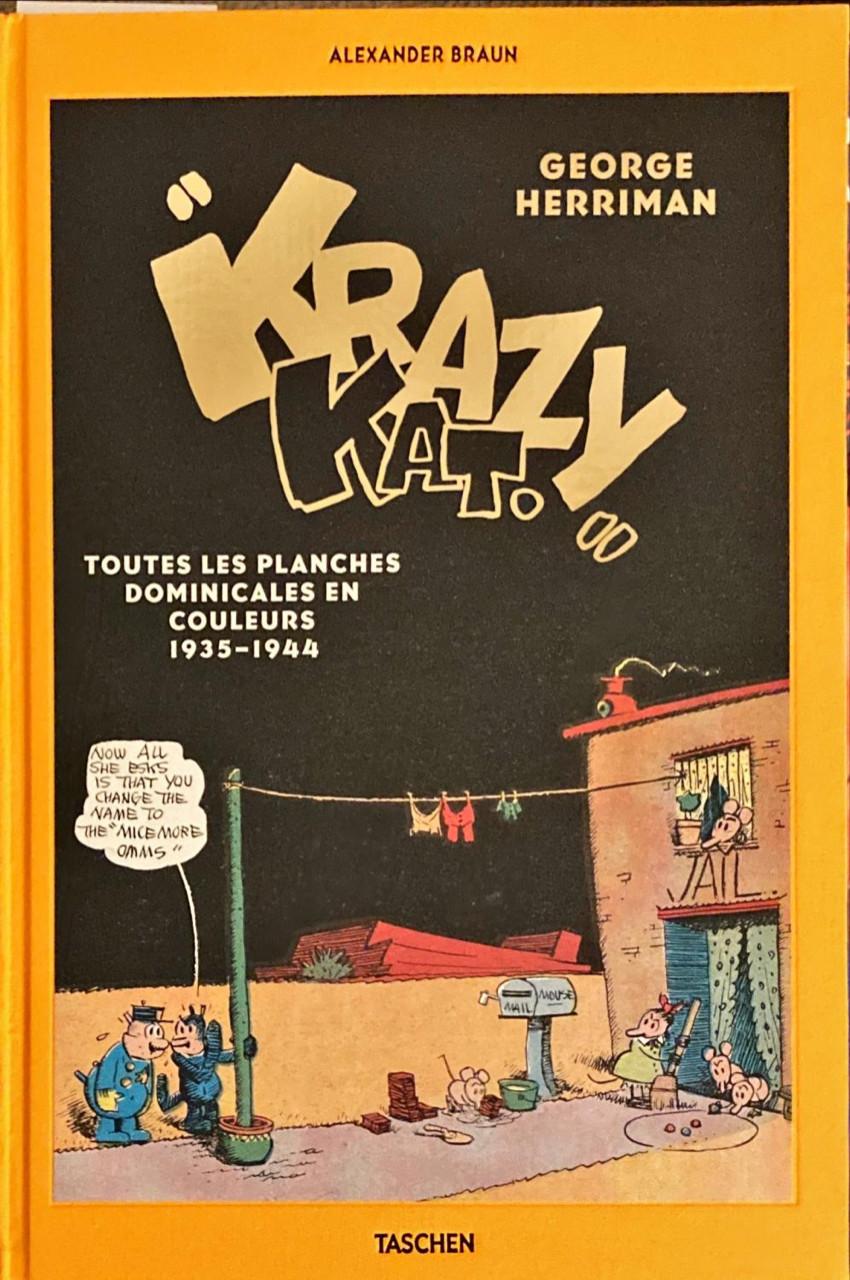 Couverture de Krazy & Ignatz (2002) - George Herriman's