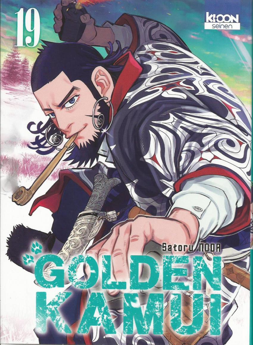 Couverture de Golden Kamui -19- Tome 19
