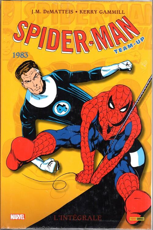Couverture de Spider-Man Team-Up (L'Intégrale) -10INT- L'intégrale 1983