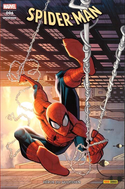 Couverture de Spider-Man (Marvel France 8e série - 2020)  -6- Héros du quotidien