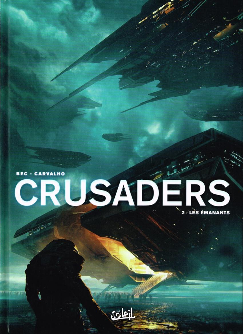 Couverture de Crusaders -2- Les Émanants