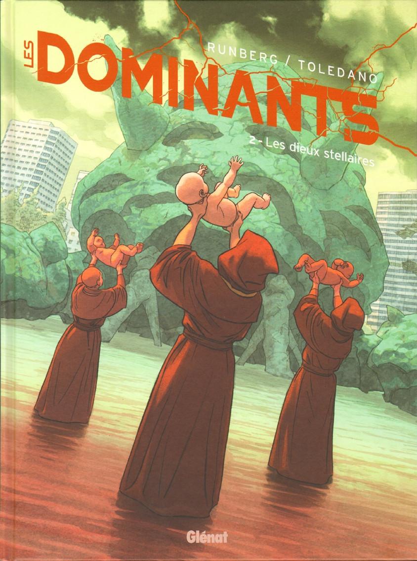 Couverture de Les dominants -2- Les dieux stellaires
