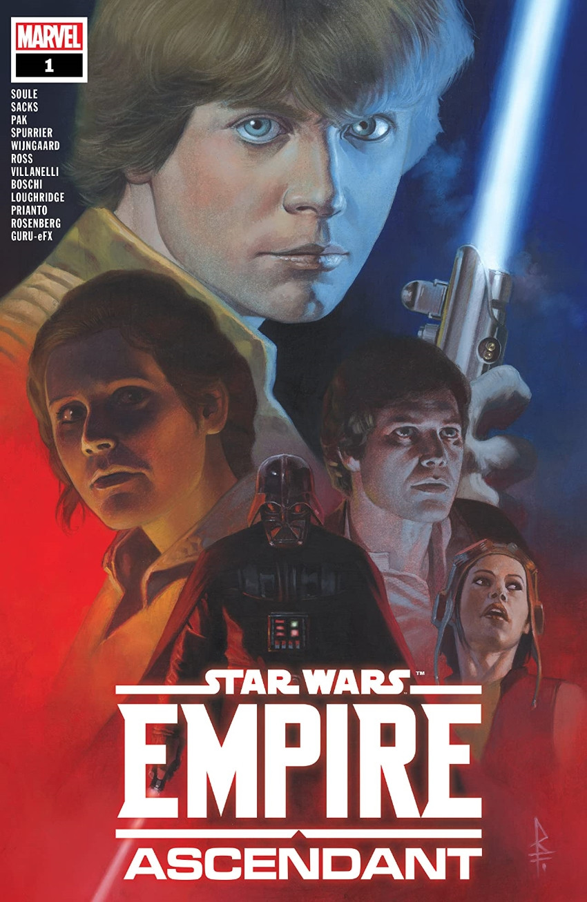 Couverture de Star Wars Vol.2 (Marvel comics - 2015) -OS- Star Wars: Empire Ascendant