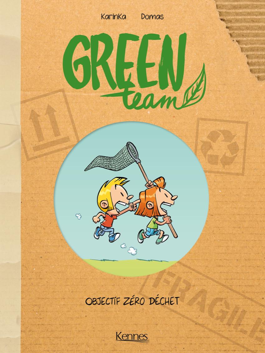 Couverture de Green Team -1- Objectif Zéro Déchet