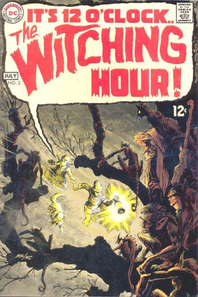 Couverture de The witching Hour (DC comics - 1969) -3- The Witching Hour #3