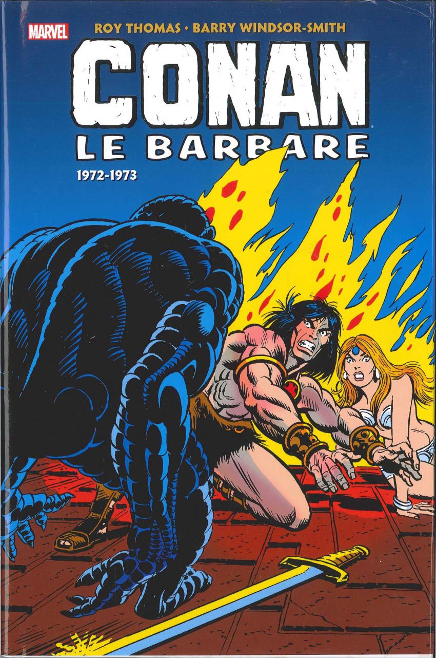 Couverture de Conan le barbare : l'intégrale -3- 1972-1973
