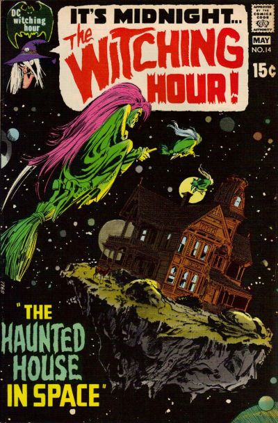 Couverture de The witching Hour (DC comics - 1969) -14- The Witching Hour #14