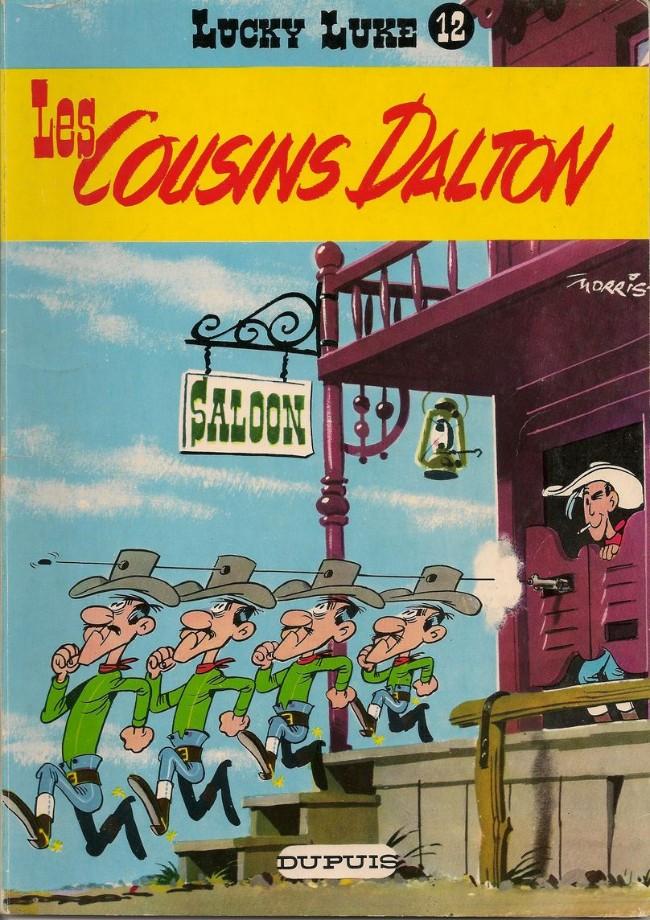 Couverture de Lucky Luke -12- Les cousins Dalton