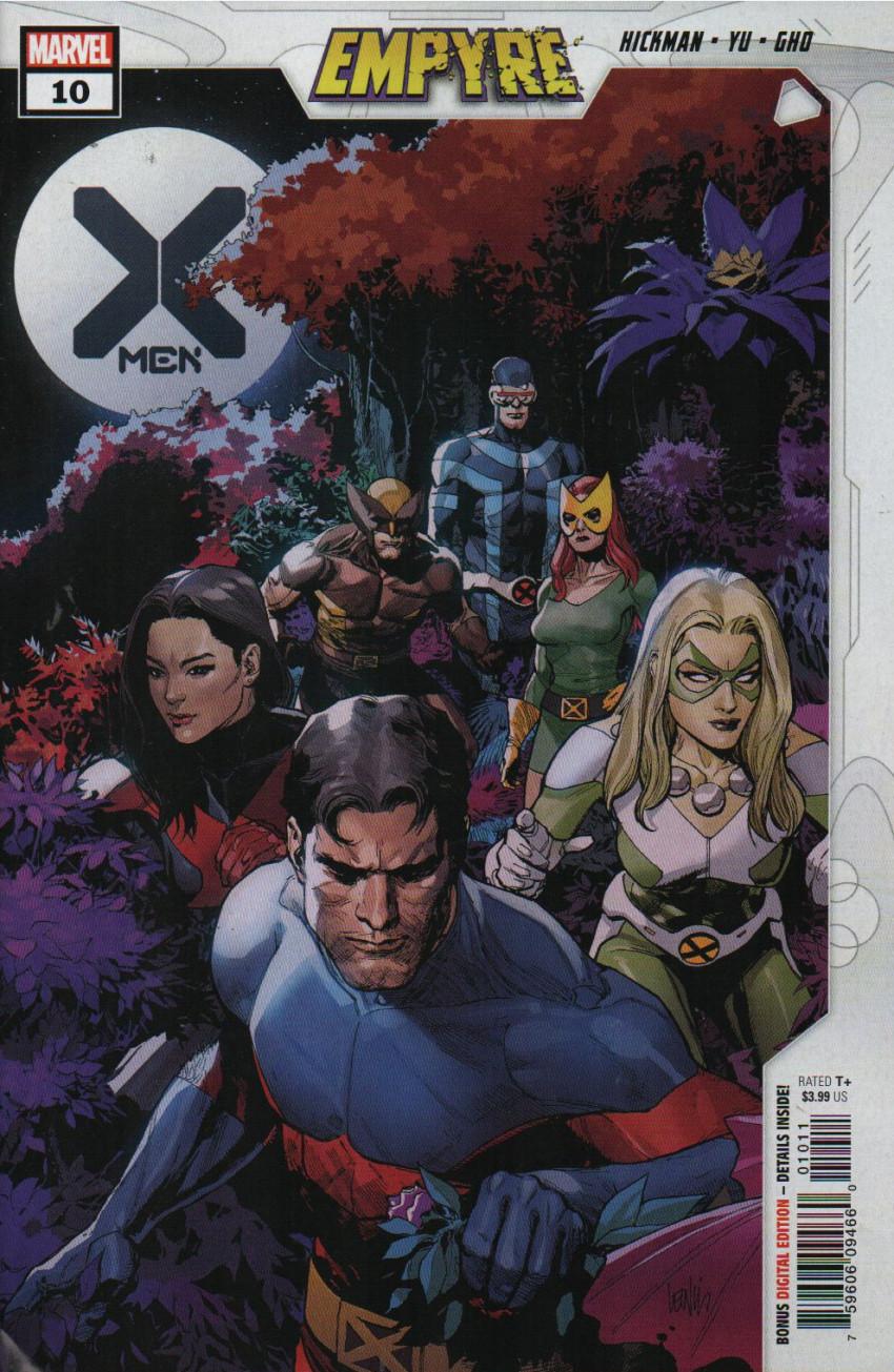 Couverture de X-Men Vol.5 (Marvel comics - 2019) -10- Fire