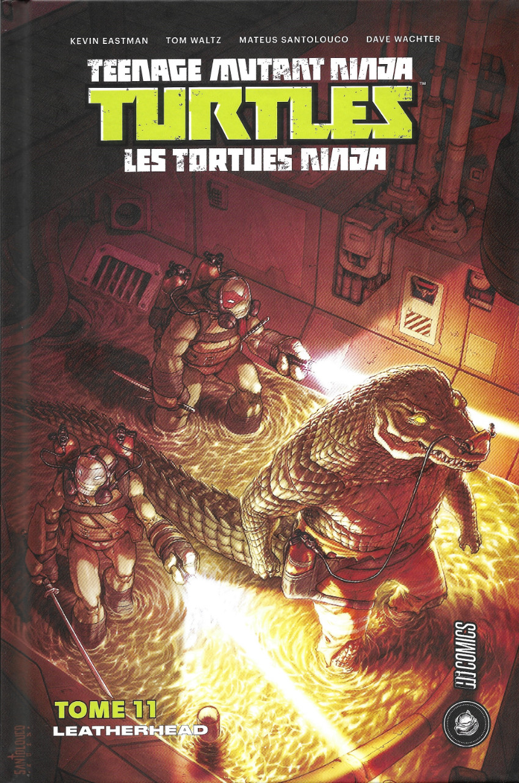 Couverture de Teenage Mutant Ninja Turtles - Les Tortues Ninja (HiComics) -11- Leatherhead