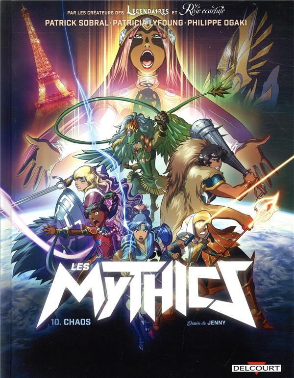 Couverture de Les mythics -10- Chaos