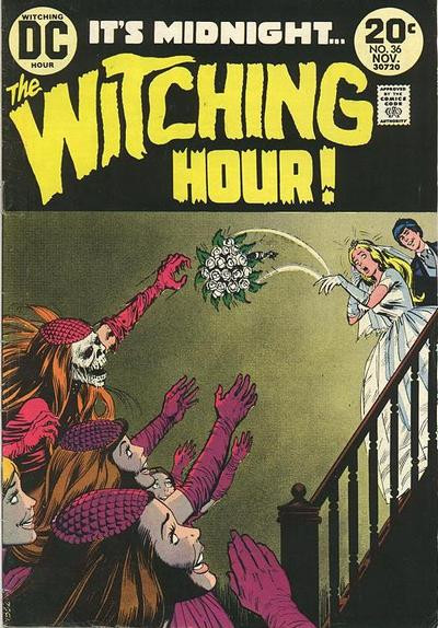 Couverture de The witching Hour (DC comics - 1969) -36- The Witching Hour #36