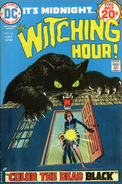 Couverture de The witching Hour (DC comics - 1969) -44- The Witching Hour #44