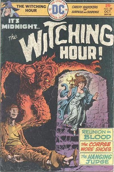 Couverture de The witching Hour (DC comics - 1969) -59- The Witching Hour #59