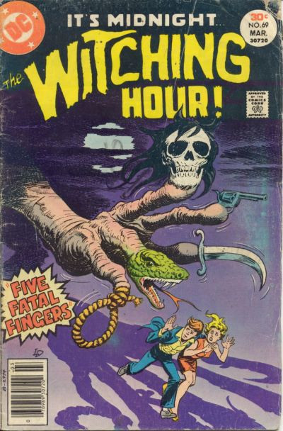 Couverture de The witching Hour (DC comics - 1969) -69- The Witching Hour #69
