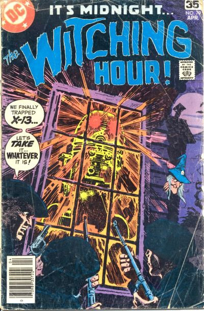 Couverture de The witching Hour (DC comics - 1969) -79- The Witching Hour #79