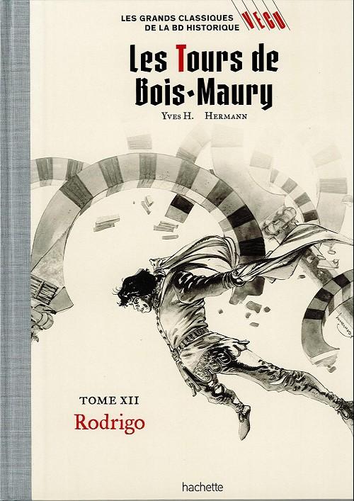 Couverture de Les grands Classiques de la BD Historique Vécu - La Collection -20- Les Tours de Bois-Maury - Tome XII : Rodrigo