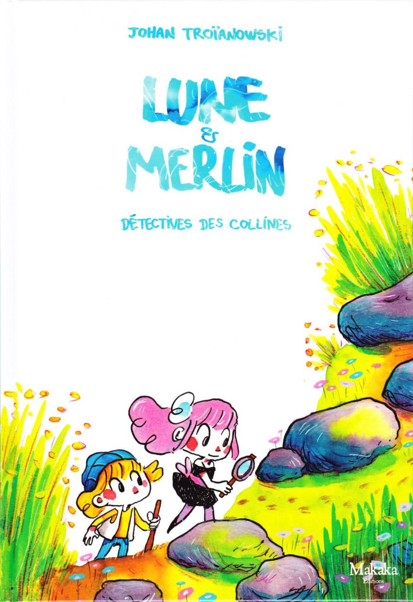 Couverture de Lune et Merlin -1- Détectives des collines