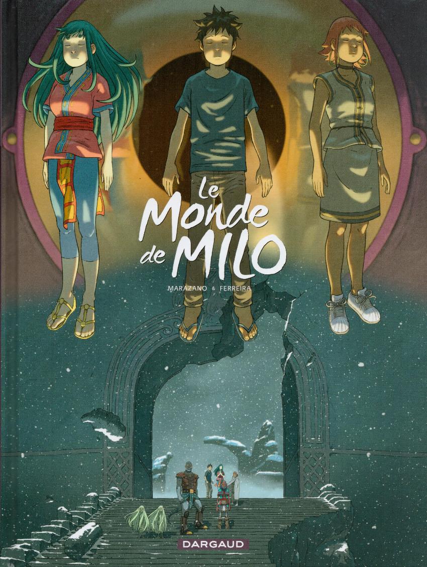 Couverture de Le monde de Milo -8- La Terre sans Retour 2/2