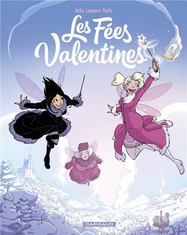 Couverture de Les fées Valentines -4- La princesse des neiges