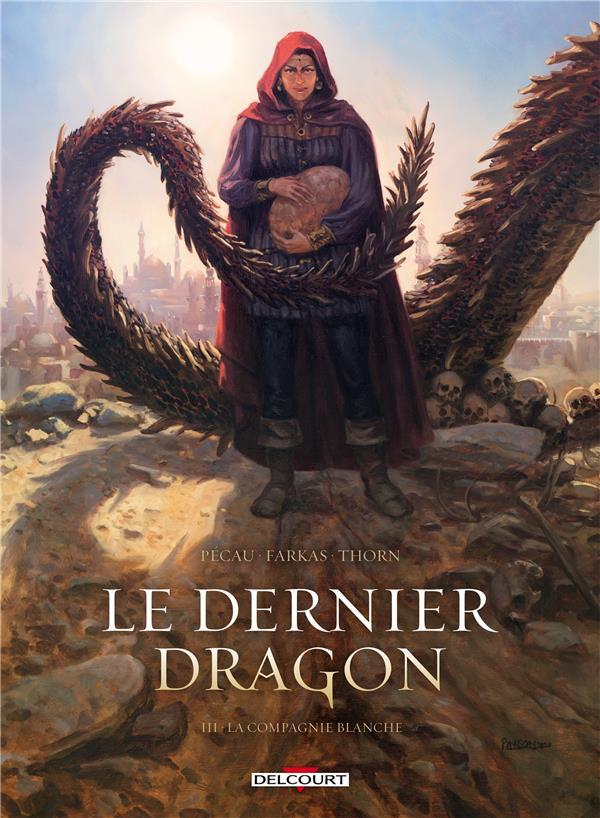 Couverture de Le dernier dragon -3- La compagnie blanche
