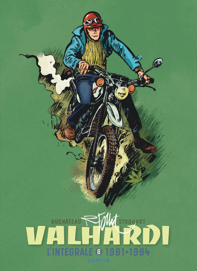 Couverture de Valhardi (L'intégrale) -6- L'intégrale 1981-1984