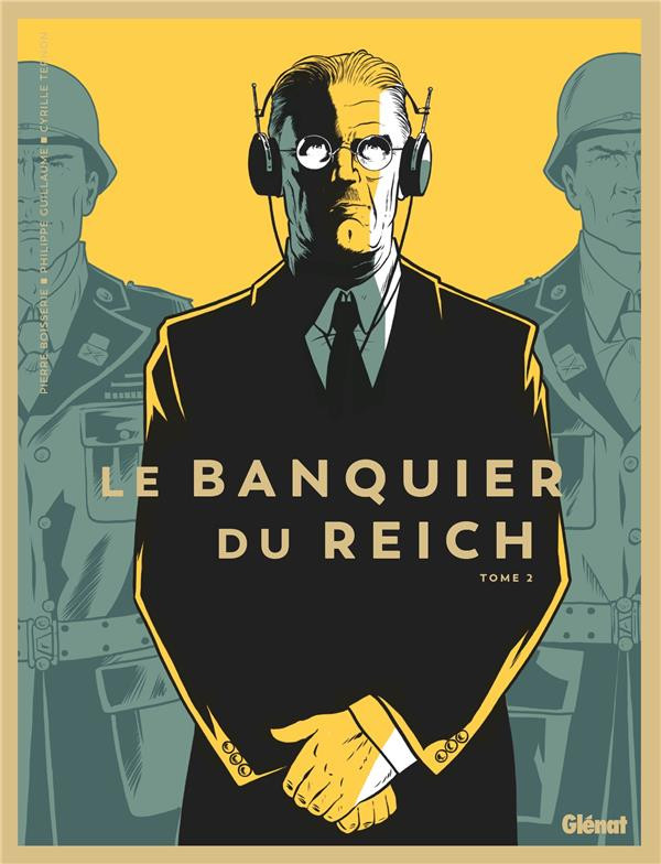Couverture de Le banquier du Reich -2- Tome 2