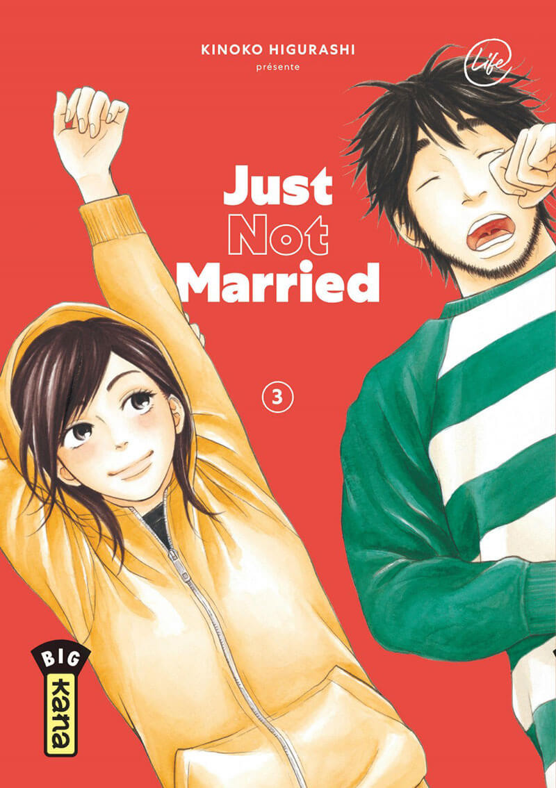Couverture de Just not married -3- Tome 3