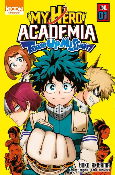 Couverture de My Hero Academia - Team-Up Mission -1- Tome 1