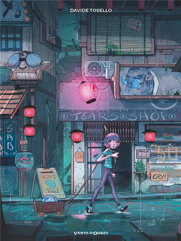 Couverture de Blue au pays des songes -2- Bienvenue à Sad City