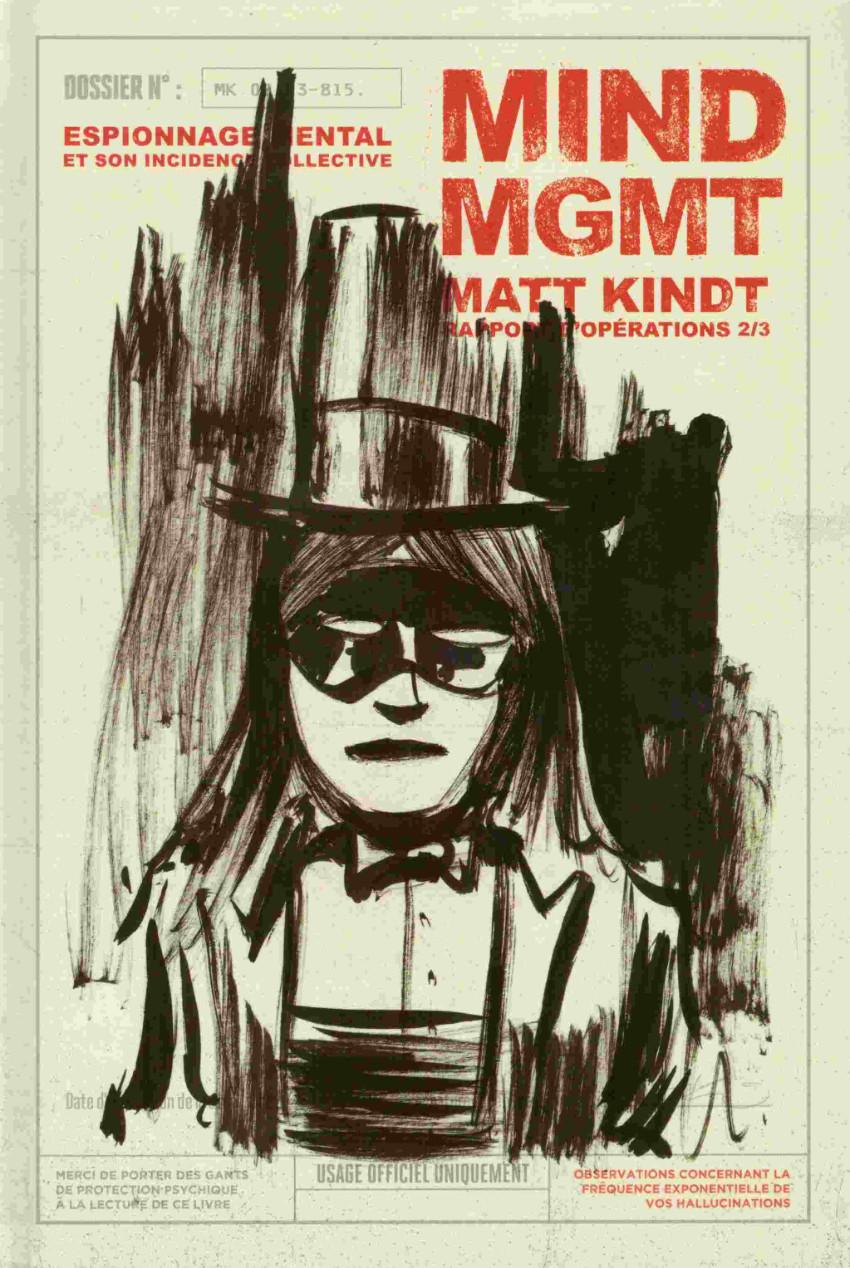 Couverture de Mind MGMT -2- Espionnage mental et son incidence collective - Rapport d'opérations 2/3