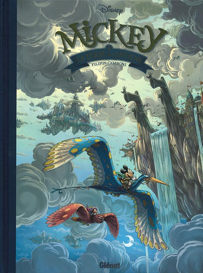 Couverture de Mickey (collection Disney / Glénat) -12- Mickey & la Terre des anciens