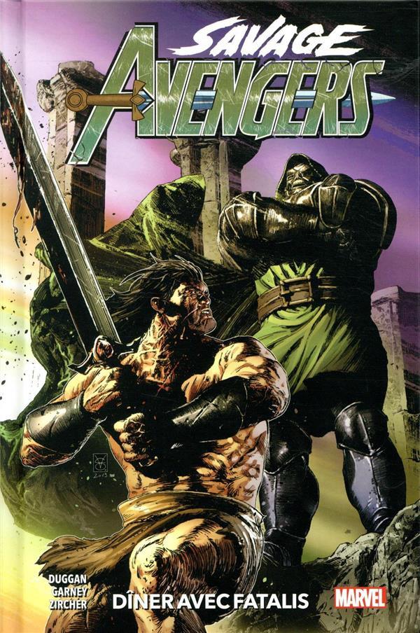 Couverture de Savage Avengers -2- Dîner avec Fatalis
