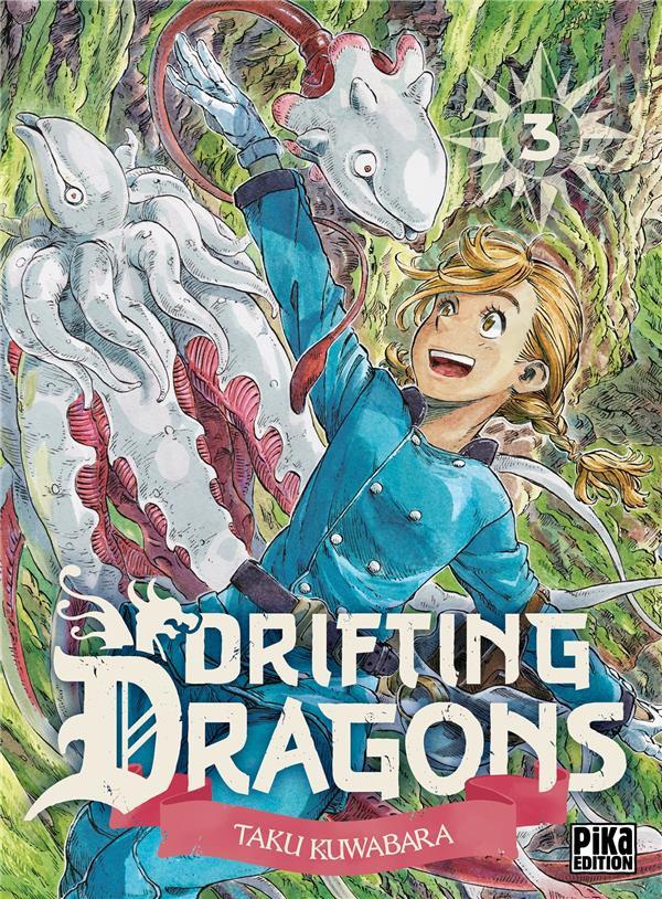 Couverture de Drifting Dragons -3- Tome 3