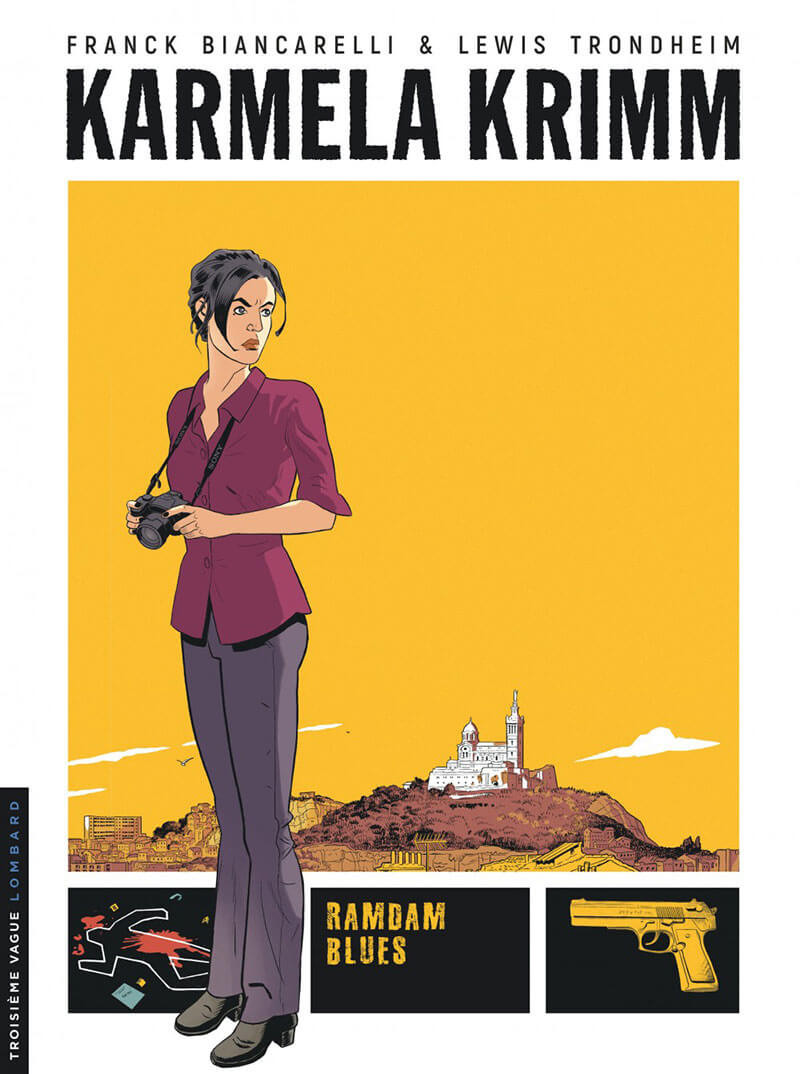 Couverture de Karmela Krimm -1- Ramdam blues