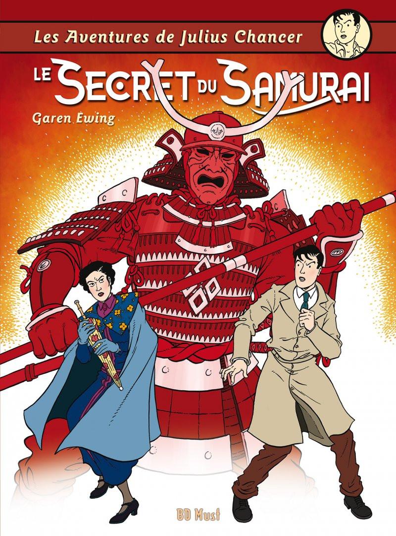 Couverture de Les aventures de Julius Chancer -4TL- Le Secret du Samurai
