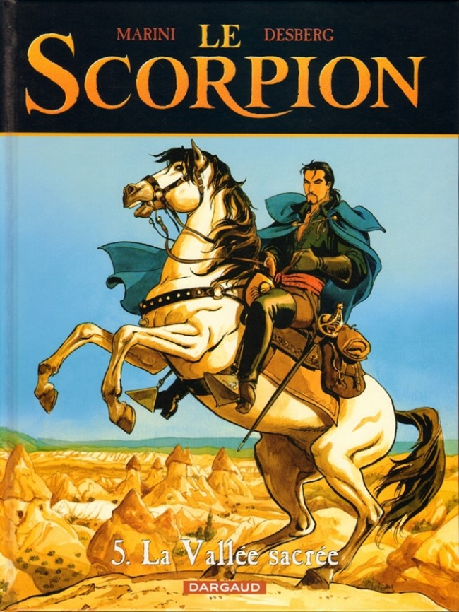 Couverture de Le scorpion -5- La Vallée sacrée