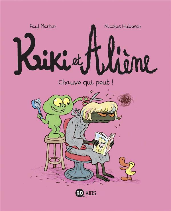 Couverture de Kiki et Aliène -7- Chauve qui peut !