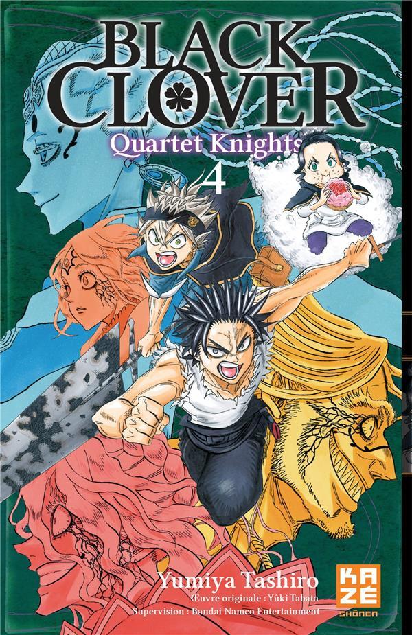 Couverture de Black Clover - Quartet Knights -4- Tome 4