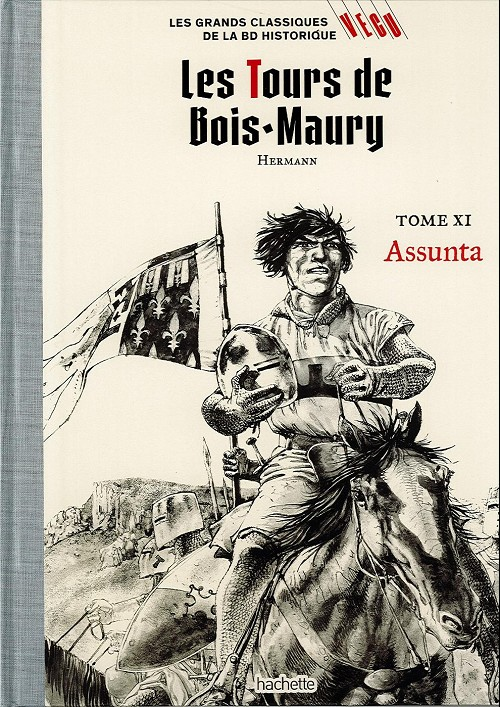 Couverture de Les grands Classiques de la BD Historique Vécu - La Collection -19- Les Tours de Bois-Maury - Tome XI : Assunta