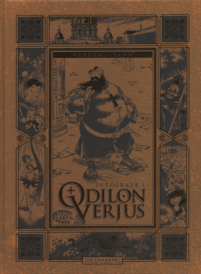 Couverture de Odilon Verjus (Les exploits d') -INT1- Intégrale 1