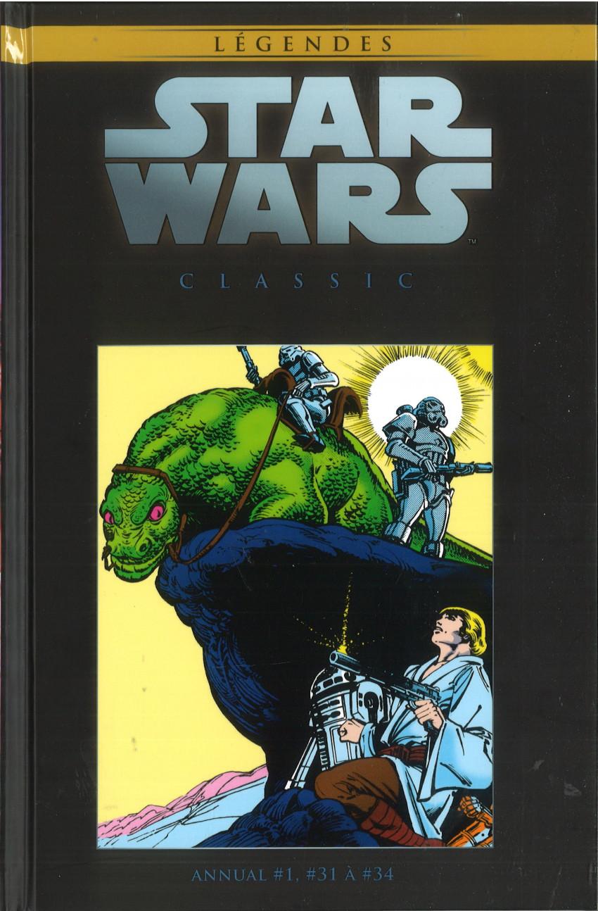 Couverture de Star Wars - Légendes - La Collection (Hachette) -121121- Star Wars Classic - Annual #1, #31 à #34