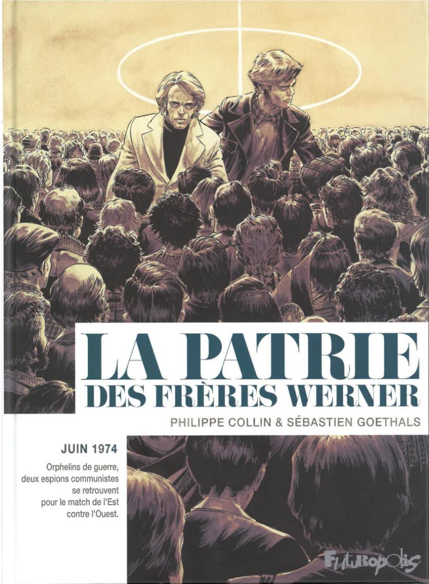 Couverture de La patrie des frères Werner - La Patrie des frères Werner