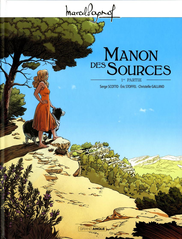 Couverture de Manon des sources -1- Première partie