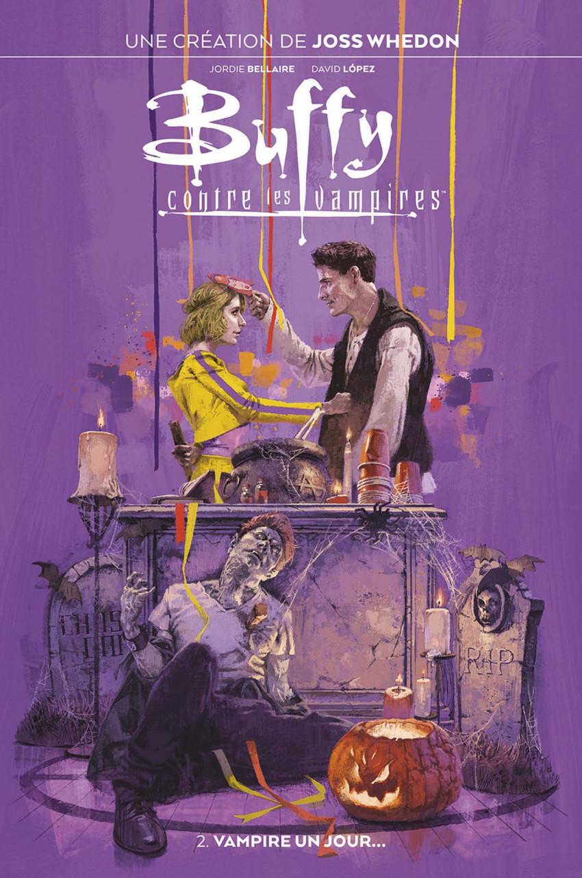 Couverture de Buffy contre les vampires (2019) -2- Vampire un jour...