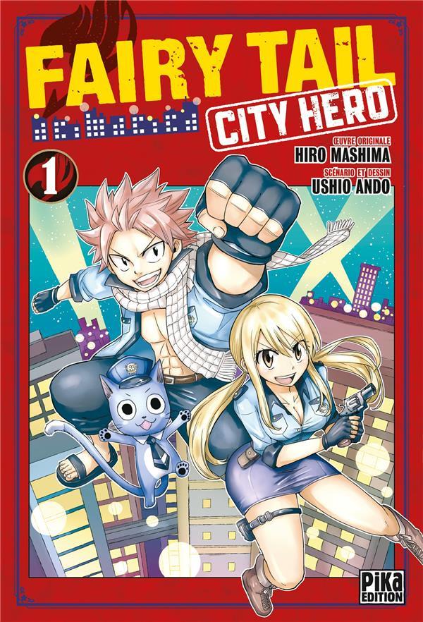 Couverture de Fairy Tail - City Hero -1- Tome 1