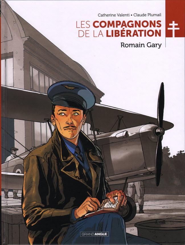 Couverture de Les compagnons de la Libération -4- Romain Gary