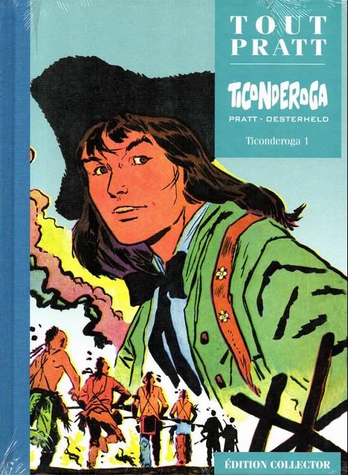 Couverture de Tout Pratt (collection Altaya) -40- Ticonderoga 1